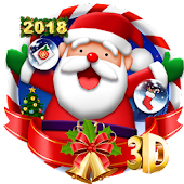 3D Merry Christmas Theme 🎅