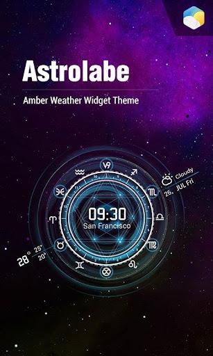 별자리 시간 날씨위젯 독특한 투명한 실시간