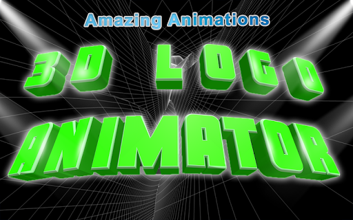 3D Text Animated-3D Logo Animations;3D Video Intro Apk 1