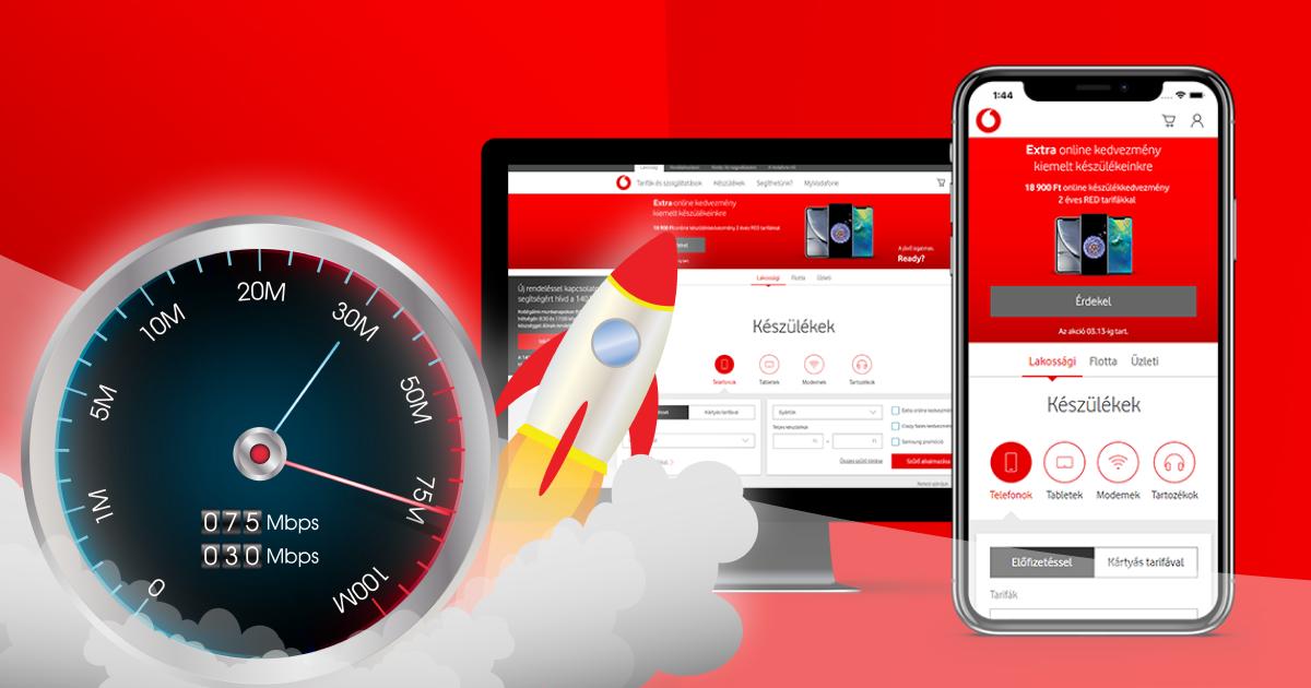 A sikeres webáruháznál lényeges a sebességoptimalizálás: a lassú oldalbetöltés esetén távozik a vásárló