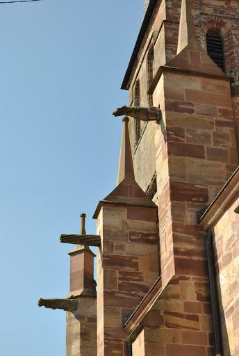 Les gargouilles de l'église Sainte-Libaire de Rambervillers