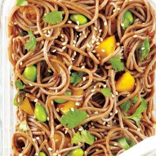 Soy-Lime Soba Noodle and Edamame Salad