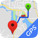 Driving Direction: Street View icon