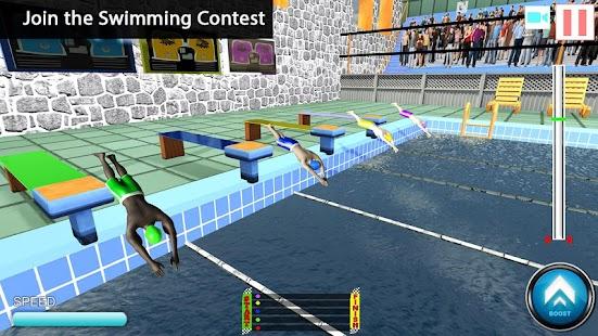 Freestyle Swimming Pool Flip Diving Water Racing Free Games Online Online Play Games Free