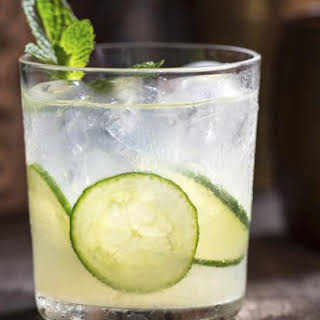 Enjoy the Taste of the Garden in the Green Gin Giant.