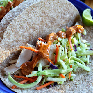 Mahi Mahi Fish Tacos with Easy Chipotle Mayo