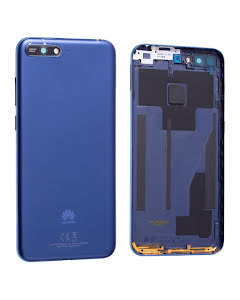 Y6 2018 Back Cover Blue