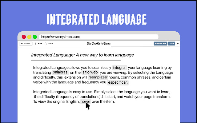 Integrated Language