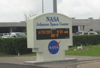 Photo: JSC Entrance Gates (one of many)