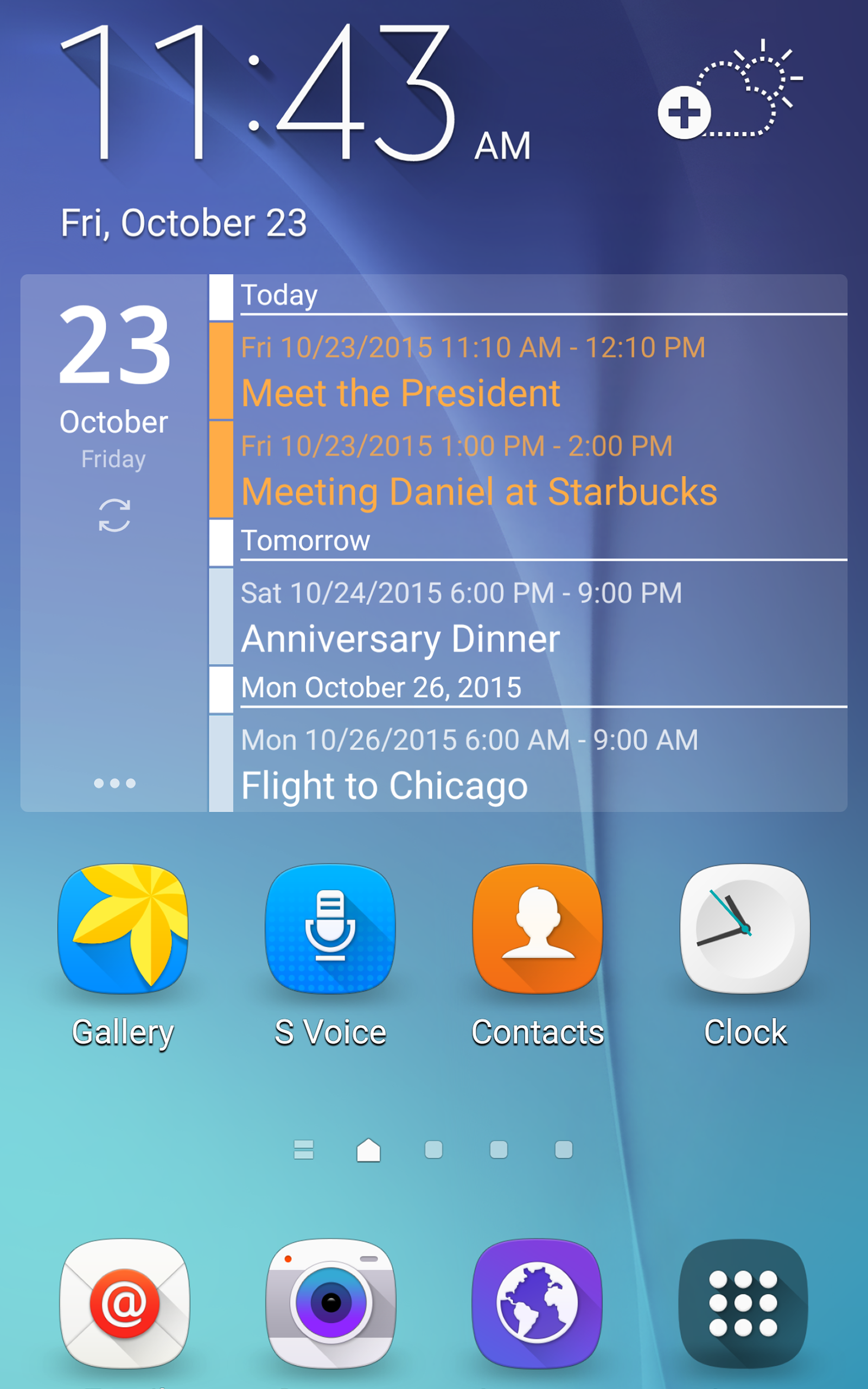 Clean Calendar Widget Pro screenshot #9