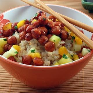 Hawaiian Chickpea Teriyaki Recipe