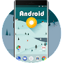 Theme for Android O Wallpaper & Icons HD APK icon