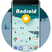 Theme for Android O Wallpaper & Icons HD