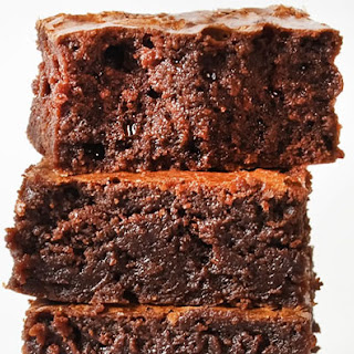Gooey Brownies with Fudge Frosting.