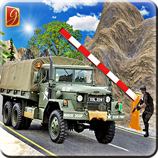 Drive Army Check Post Truck
