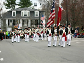 Photo: THE RED COATS ARE COMING! ONE OF THE GREAT SIGHTS OF THE PARADE