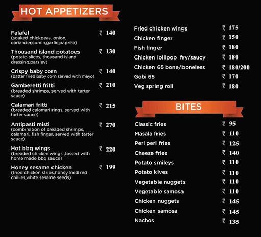 Cocochilli menu 2