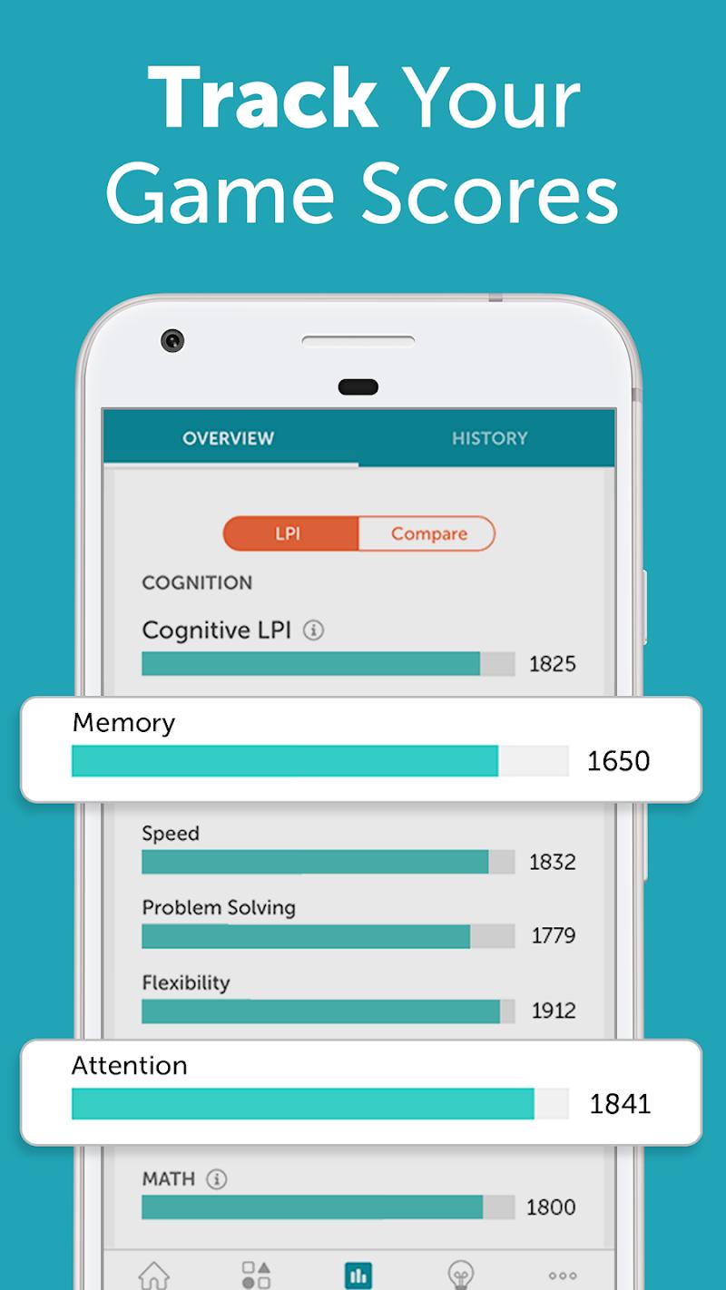 Lumosity: #1 Brain Games & Cognitive Training App Screenshot 4