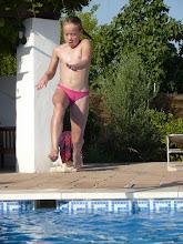 Photo: ...and long-jump!