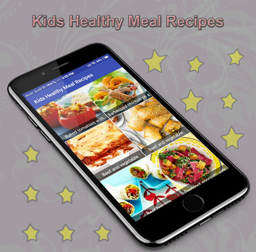 Kids Healthy Meal Recipes 1.0 screenshots 2