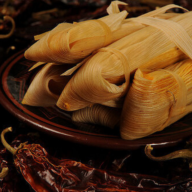 Sweet Potato Tamales with Chipotle and Pecans