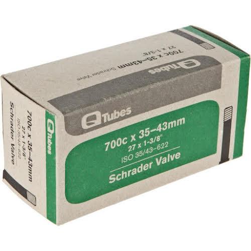 Q-Tubes Schrader Valve Tube 700c x 35-43mm