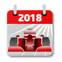 Racing Calendar 2018 (No Ads) icon