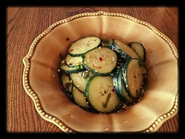 Korean Cucumber Salad Recipe