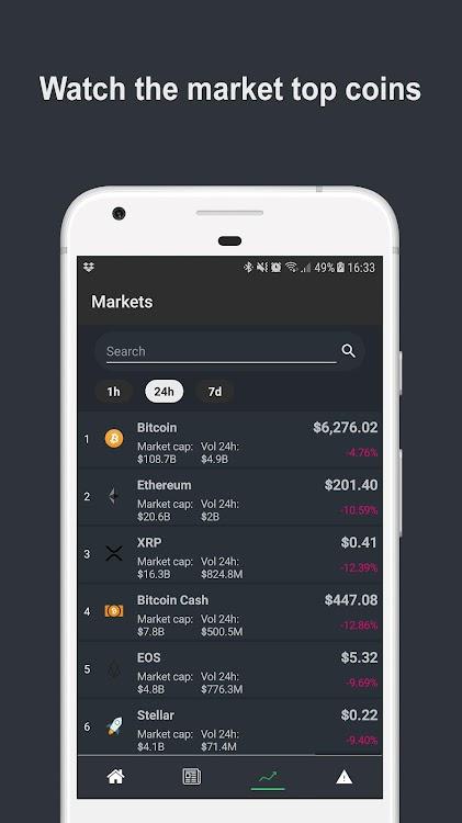 Bitcoin tracker onect 201