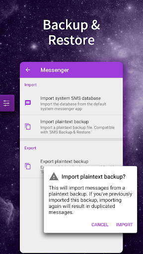Galaxy SMS Messenger 2019 - SMS Lock&Free Stickers screenshot 6