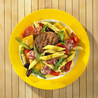 Warm Antipasto Pasta Salad.