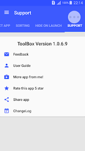 Floating ToolBox Pro(Donate) Screenshot