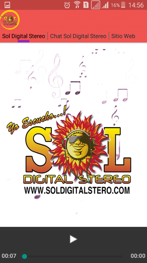 Sol Digital Stereo-: captura de pantalla