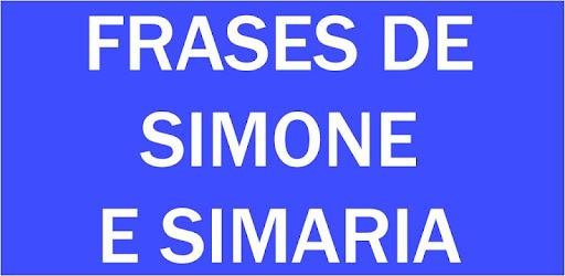 Frases De Simone E Simaria Apps En Google Play