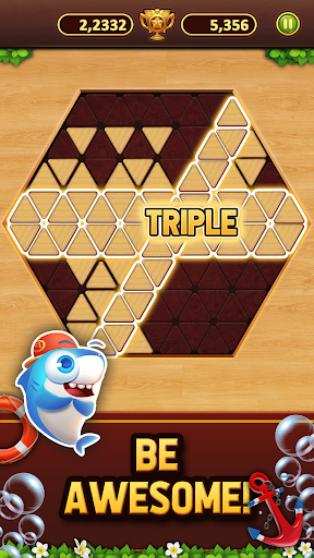 Trigon Wood: Triangle Block Puzzle screenshot 5