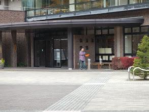 Photo: を、掃除してくれた松桐坊主さん。