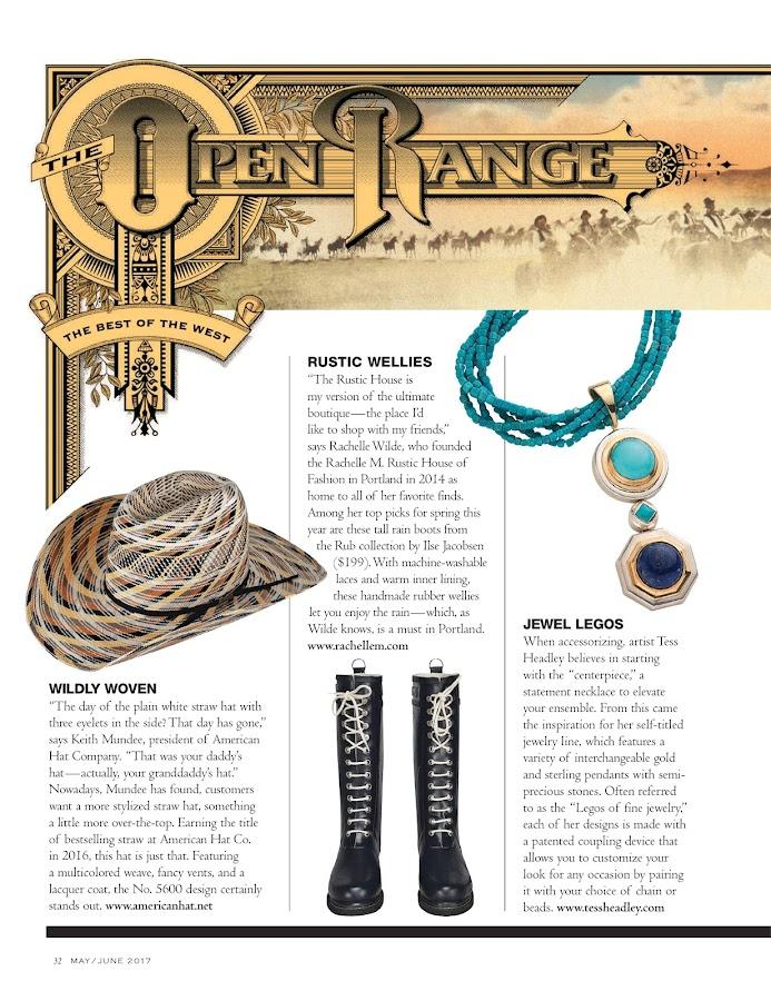 Cowboys & Indians Magazine- screenshot