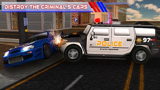 Criminal Police Car Chase 3Dud83dudc6e  screenshots 8