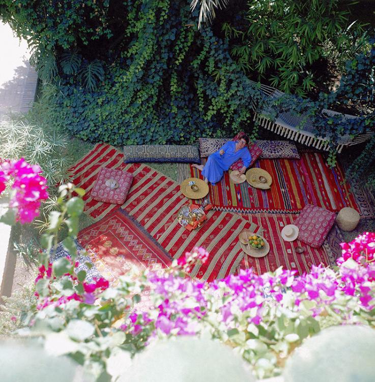 Jardin Yves Saint Laurent Marrakech: Yves Saint Laurent's Jardin Majorelle In Marrakech