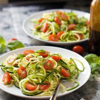 Spinach and Artichoke Skillet Zucchini Lasagna