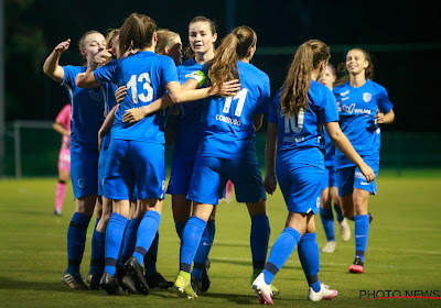 Genk Ladies kloppen OH Leuven in pittig duel en schuiven op in de stand van de Super League