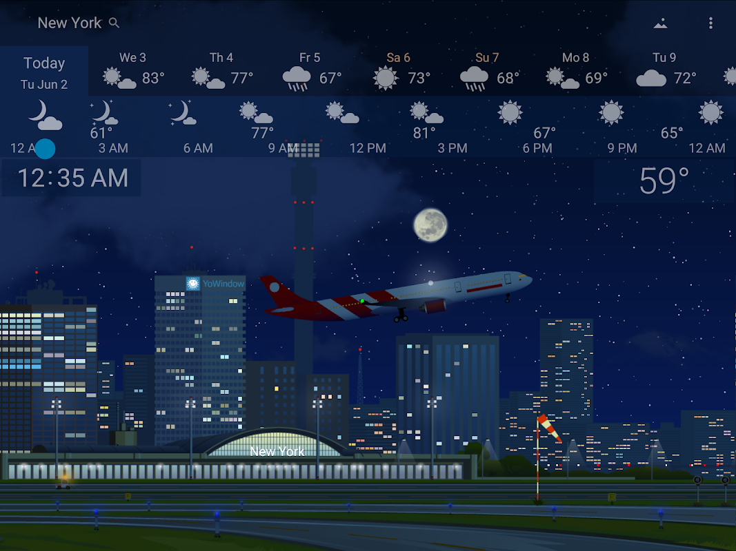 Awesome Weather YoWindow - Live Wallpaper, Widgets screenshots