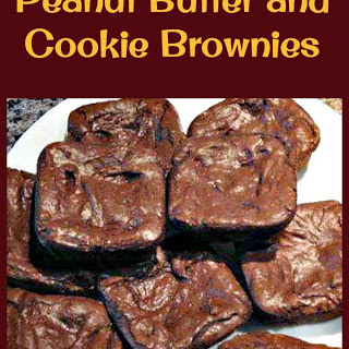 Peanut Butter and Cookie Brownies