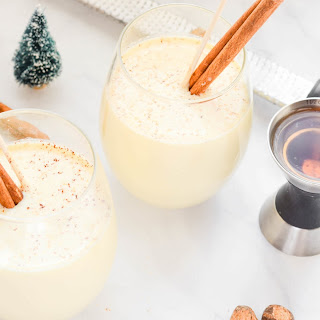 Bourbon Coconut Milk Punch.