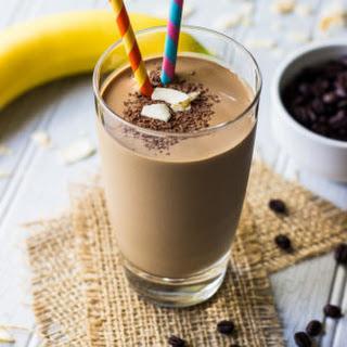 Chocolate Coconut Espresso Smoothie.
