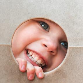 Peek a Boo by Erin Heavilin - People Family