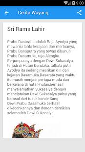 Cerita Wayang Ramayana - náhled