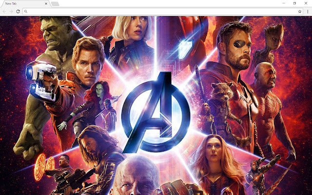 Avengers: Infinity War Themes - New Tab