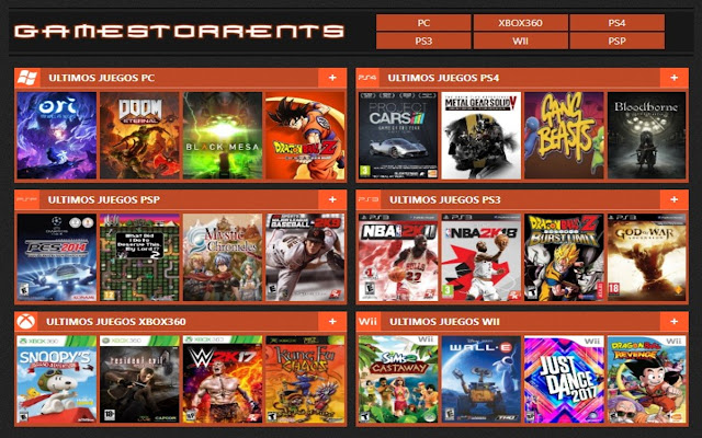 Gamestorrents Juegos Torrent