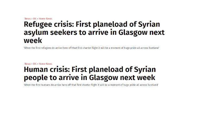 Human Crisis